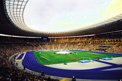 Eröffnung des Olympia-Stadions
